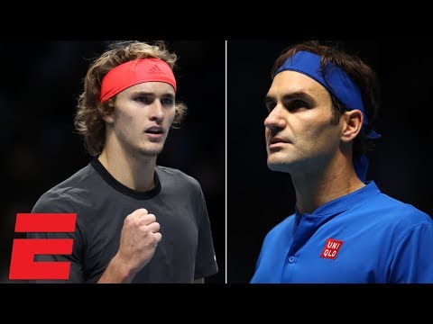 Federer vs. Zverev ATP Finals in London Highlights