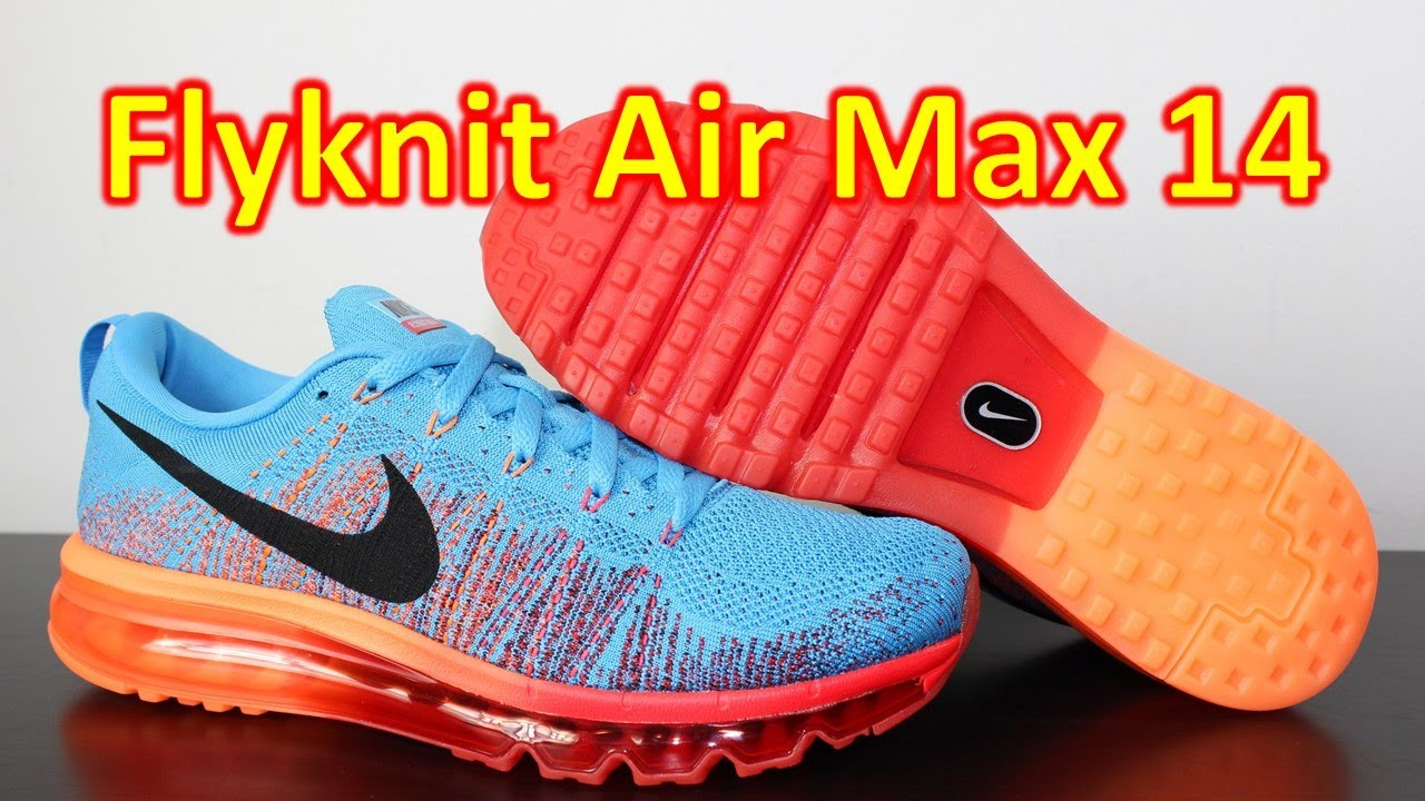 e3663a95ddd Nike Flyknit Max Vivid Blue - Review + On Feet - YouTube