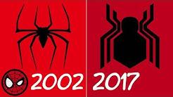 Evolution of Spider-Man Spider Symbols in Movies (2002-2017)