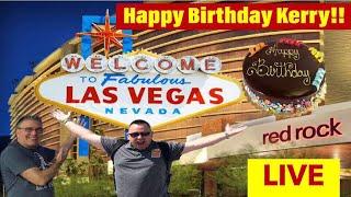 🚨LIVE Casino Slot Play!  Kerry's Birthday Bash Blowout! Red Rock Casino!