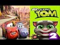 My Talking Tom 2 VS Disney Pixar Cars Lightning McQueen League Gameplay HD #69 | Funny Game