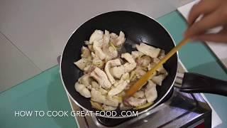 Chinese Stir Fry Chicken Recipe - Asian Wok
