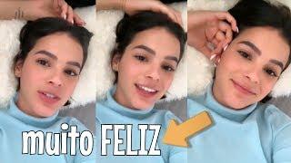 Bruna Marquezine COMENTA sobre a CÉLULA e níver do Pai... ❤