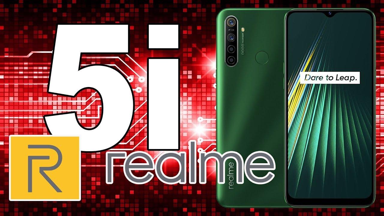 realme 5i - пять камер, ёмкий аккумулятор и доступная цена