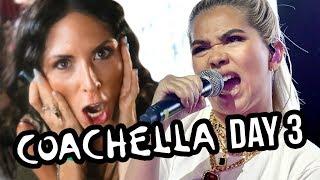 COACHELLA DAY 3! Hayley Kiyoko & Eminem?!
