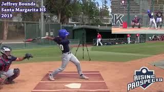 Jeffrey Bounds - Updated Baseball Highlights - Class of 2019