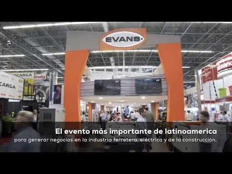 Evans® presente en Expo Nacional Ferretera 2019