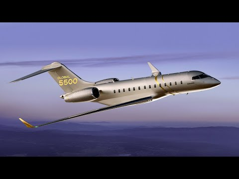 Global 5500 - Now in service