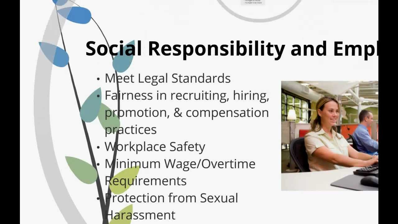 business ethics and social responsibility episode 26 youtube