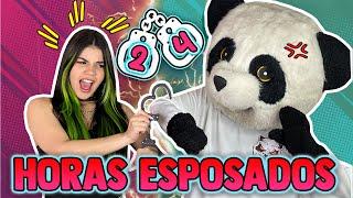 24 HORAS ESPOSADOS CON MI MEJOR AMIGO PANDA ¡Un desastre!