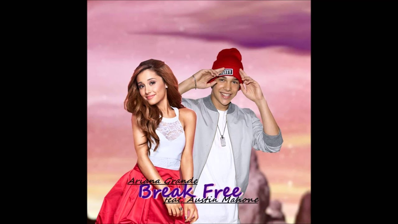 Ariana grande break free ft austin mahone youtube ariana grande break free ft austin mahone voltagebd Image collections