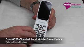 Doro 6520 Clamshell Loud Mobile Phone Review