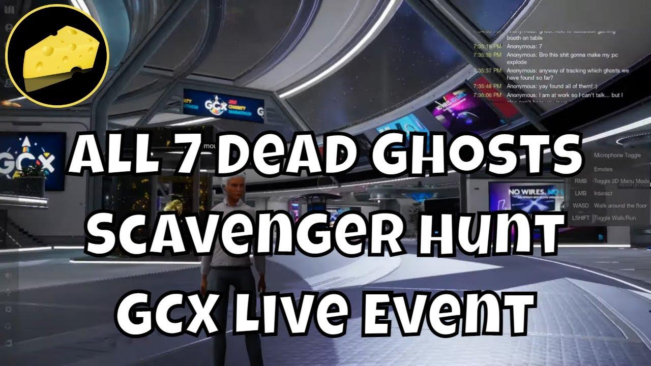 All 7 Dead Ghosts GCX Event Scavenger Hunt Emblem - How To Get Electromagnon - Live Event Guide