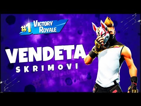 🔴 VENDETA SKRIMOVI - CUSTOM MATCHMAKING | Fortnite Balkan Stream