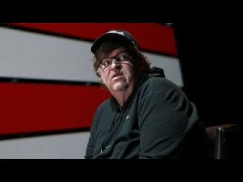 Michael Moore attends Russia-sponsored anti-Trump rally