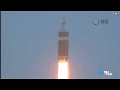 Liftoff! Orion launches new era of space exploration