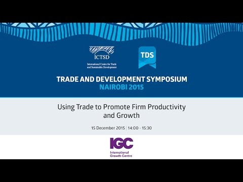 TDS LIVE | Using Trade to Promote Firm Productivity and Growth