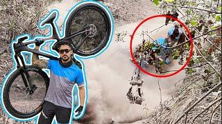 Compre una bicicleta de fibra de carbono y ME ROMPÍ LA MA🥴😂😂