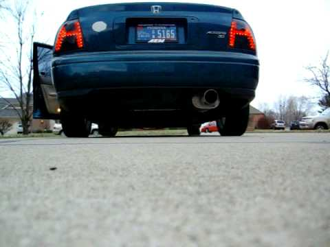 1994 honda accord coupe exhaust