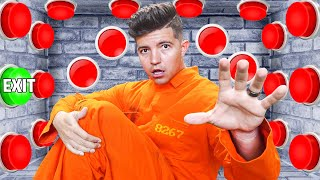 100 Mystery Prison Buttons but Only One Lets You Escape...