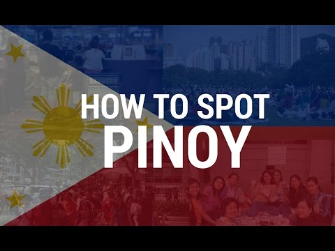 How To Spot A Filipino Abroad
