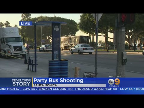 One Killed, Several Wounded In Party Bus Shooting In Downtown Santa Monica