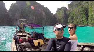 Thailand Vlog: Koh Phi Phi! Snorkeling & Monkey Beach!