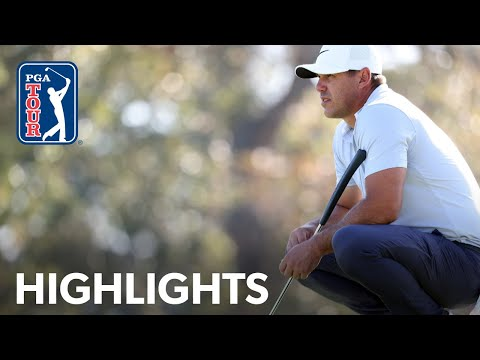 Brooks Koepka shoots 5-under 65 | Round 3 | Vivint Houston Open 2020