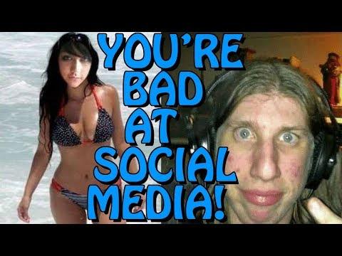 You're Bad at Social Media! #86