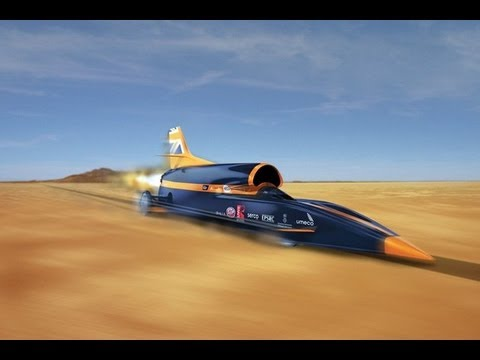 Faster Than A Bullet 1000 Mph Record Youtube