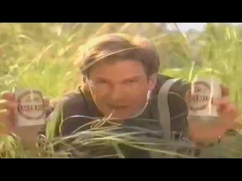 Harrison Ford , Lager Beer , jungle commercial