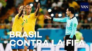 Brasil se queja a la FIFA por el VAR ante el gol de Suiza