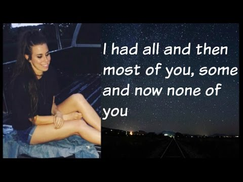 """The Night We Met"" - Cimorelli (Cover - Lyrics)"