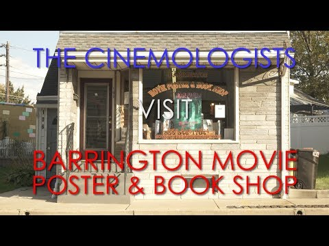 A Quick Tour Of The Barrington Movie Poster & Book Shop