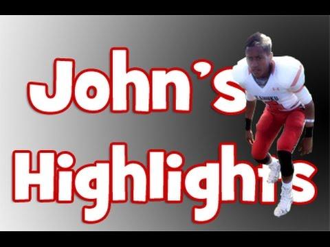 John Farley Ofahengaue • 2014 Senior Year Football Highlight