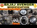 LED FOG HEAD LIGHTS FOR BAJAJ AVENGER MODIFICATION | SANS CLASSIC PARTS | JD VLOGS DELHI