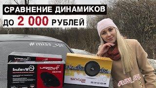 Сравнение динамиков ДО 2000 РУБ - #miss_spl