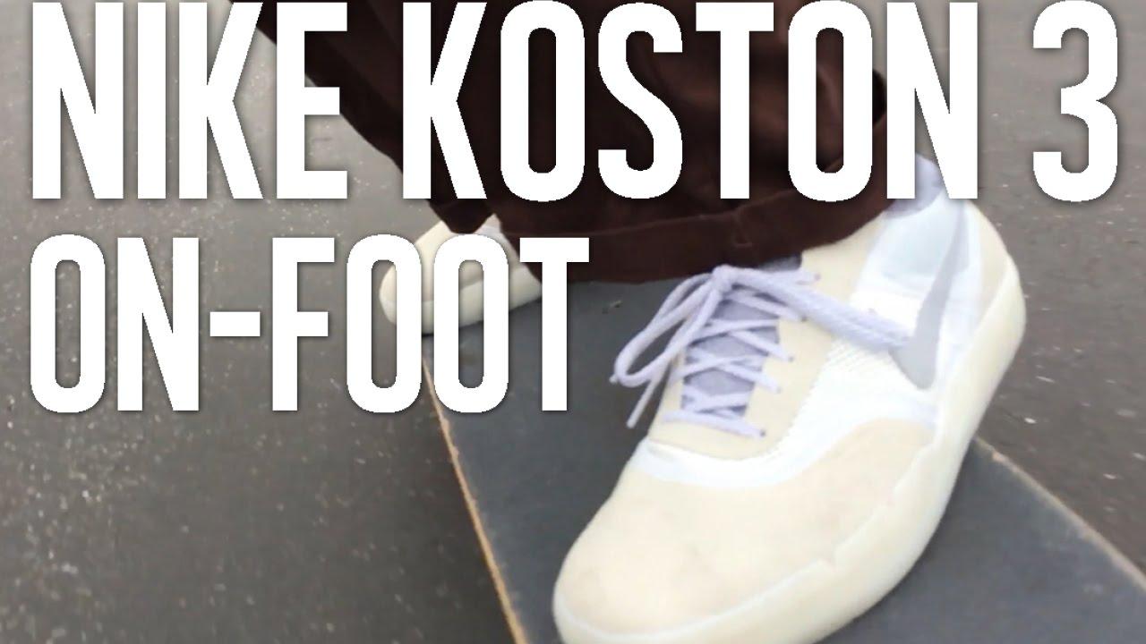 47f842224f1 Nike Koston 3 Hyperfeel On Foot! Pt. 2 - YouTube