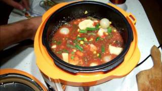 Pressure Cooker,deer Vegetable  Soup