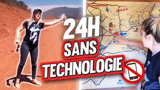 Surviving 24h without technology (lost in desert) | DENYZEE