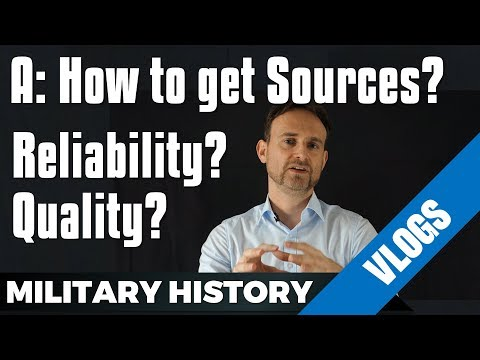 How do you get your Sources? Reliability? Quality?