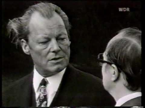 Friedrich Nowottny interviewt Willy Brandt (WDR 1972)