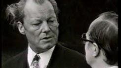 Friedrich Nowottny interviewt Willy Brandt (WDR 1972)