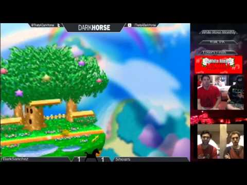 WRM 7/18 - BarkSanchez (Ugly Green Hat) Vs. Shears (Blue Hat Pika) SSB64 Loser's Finals - Smash 64