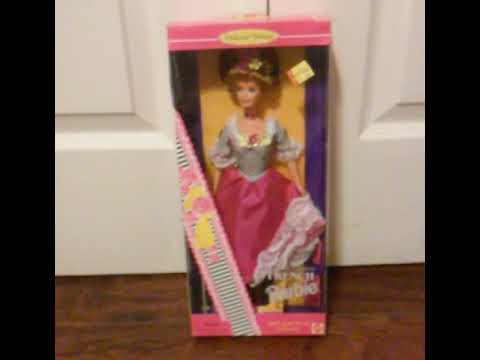 Vintage 1996 French Barbie Doll Barbie Dolls Of The World Rare