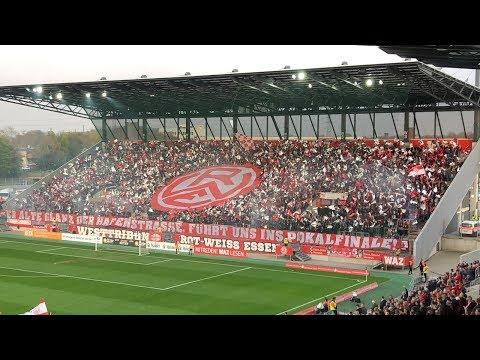 RWE-Choreo Rot-Weiss Essen 0 : 2 KFC Uerdingen | Niederrheinpokal-Halbfinale 02.04.2019