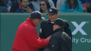 MLB 2015 April Ejections