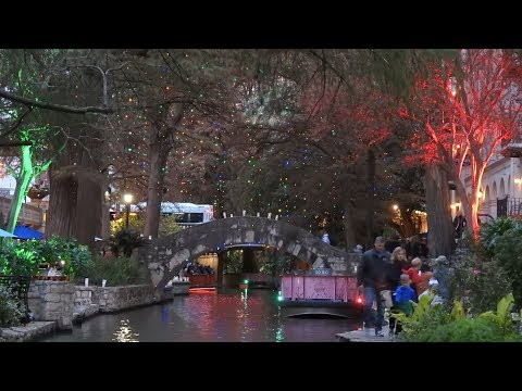 2017 San Antonio Riverwalk Holiday Lights & Westin Luxury Suite Weekend Highlights