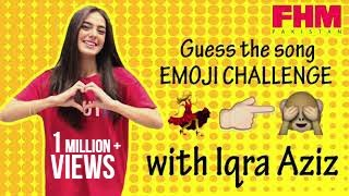 Guess the song - Emoji Challenge with Iqra Aziz at FHM Pakistan