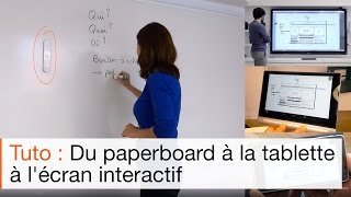 TBI mobile eBeam, écran interactif et paperboard numérique eBeam SmartMarker